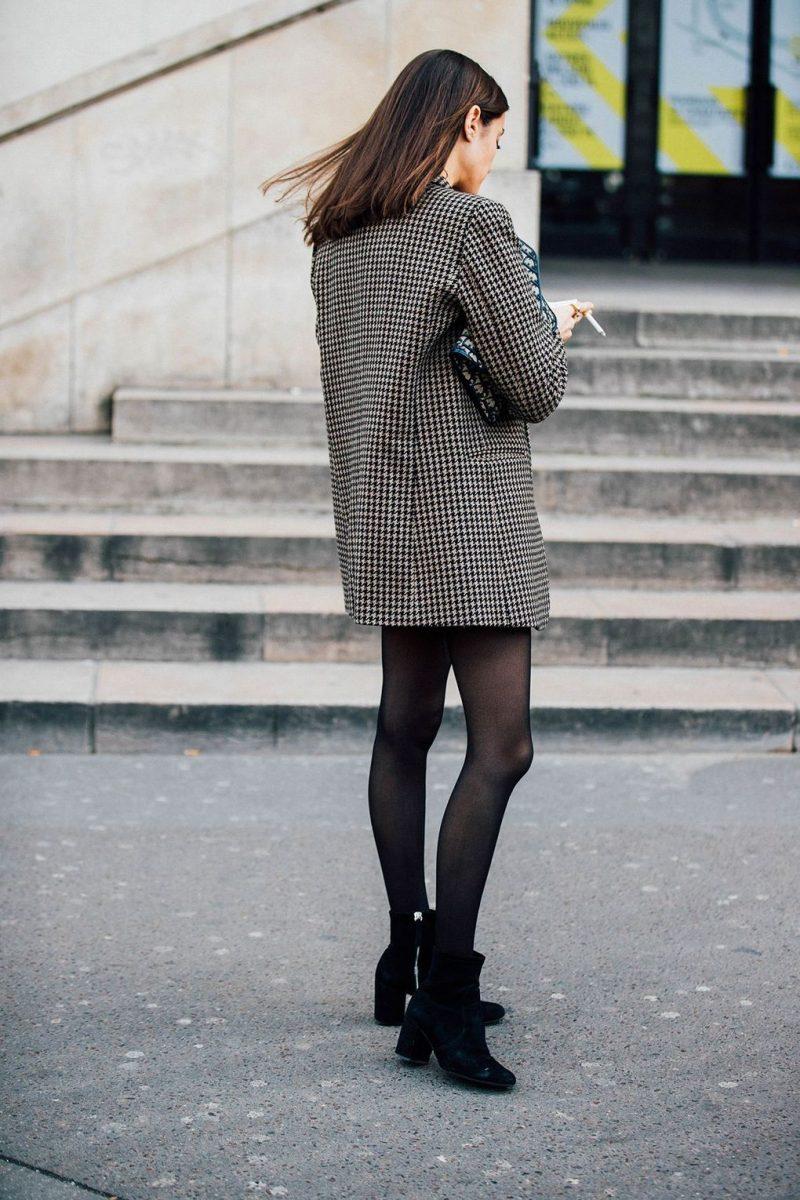 Street Style Check Blazer Brandalley Blog